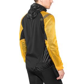 La Sportiva Blizzard Windbreaker Jacket Herren black/yellow